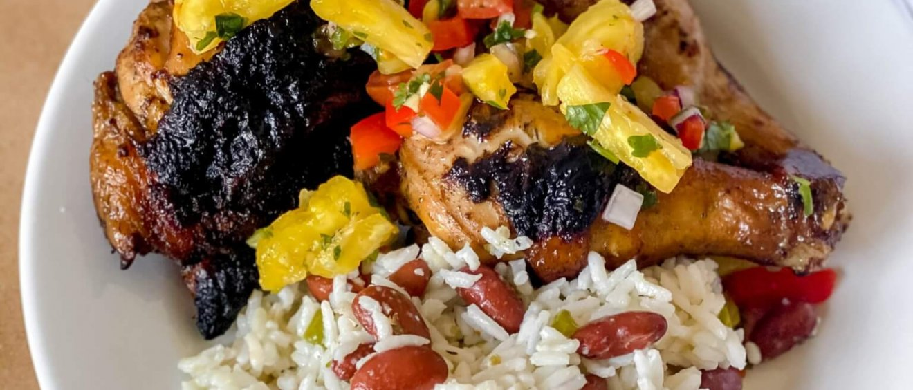 Jamaican Jerk Chicken - Freedom a la Cart meal kit recipe